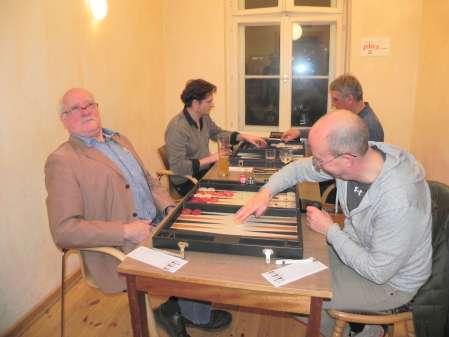 Match um Platz 3: Wolfgang zum Winkel (li), Peter Hohlenstein
