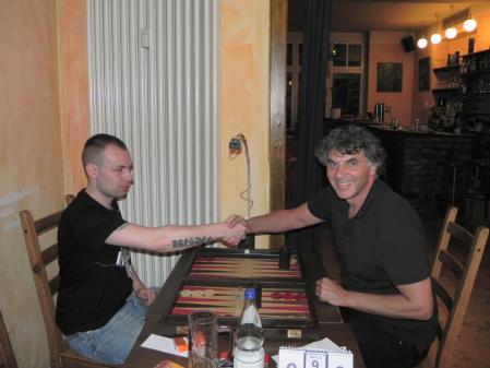 Finale: Paul Schlegel (li), Frank Petrikat