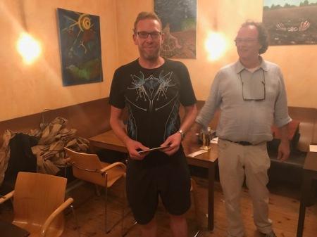 Vierter des Saisonendturniers: Thorsten Miesel