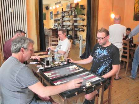 Halbfinale: Ralf Sudbrak (li), Thorsten Miesel