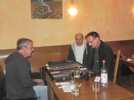 Finale, im DMP entschieden: Ralf Sudbrak (li), Michael Horchler