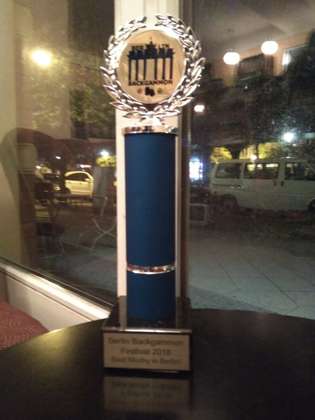 Berlin Backgammon Festival Pokal