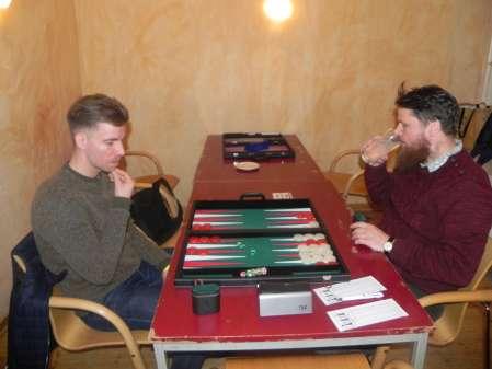 Der Neuling Daniel Anda (li) und Maik Kerner