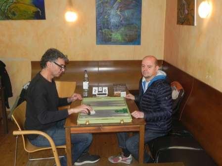 Frank Petrikat (li) und Rolf Schüler