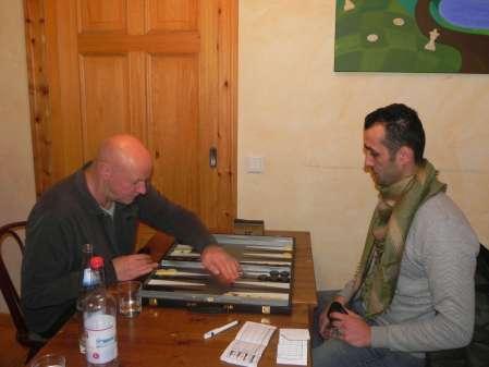 Jörg Zimmermann (li) und Meisam Jamshidi