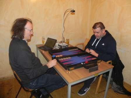 Igor Bakunowizki (re) und Dankwart Plattner