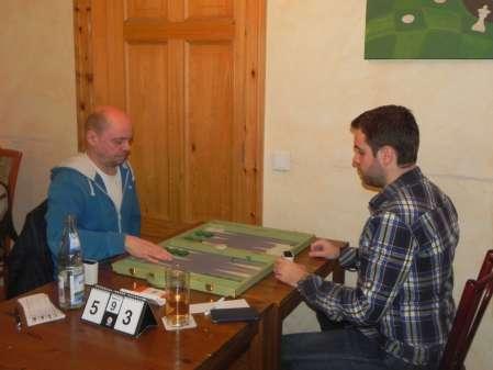 Finalmatch: Rolf Schüler (li) und Faruk Kocaer