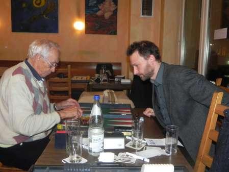 Jost Neumann (li) und Christian Setzpfandt