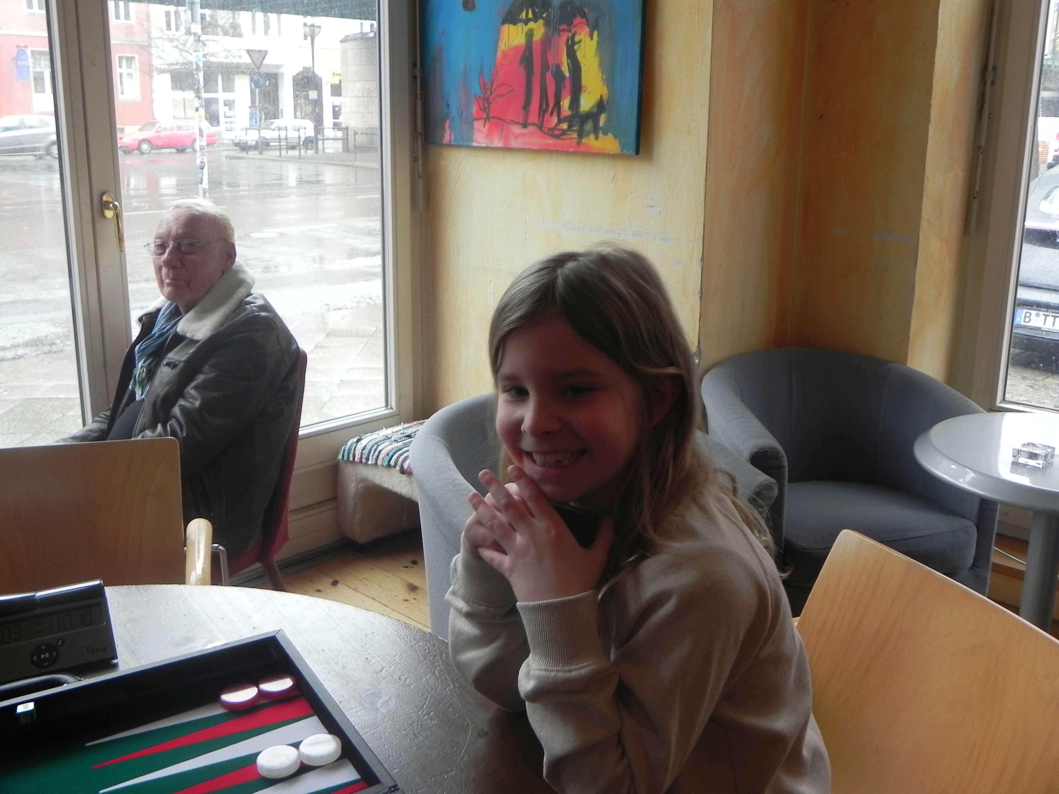 Gute Laune, Spaß am Spiel und schon eine gehörige Portion Können: Rising Star Vivien Diehr
