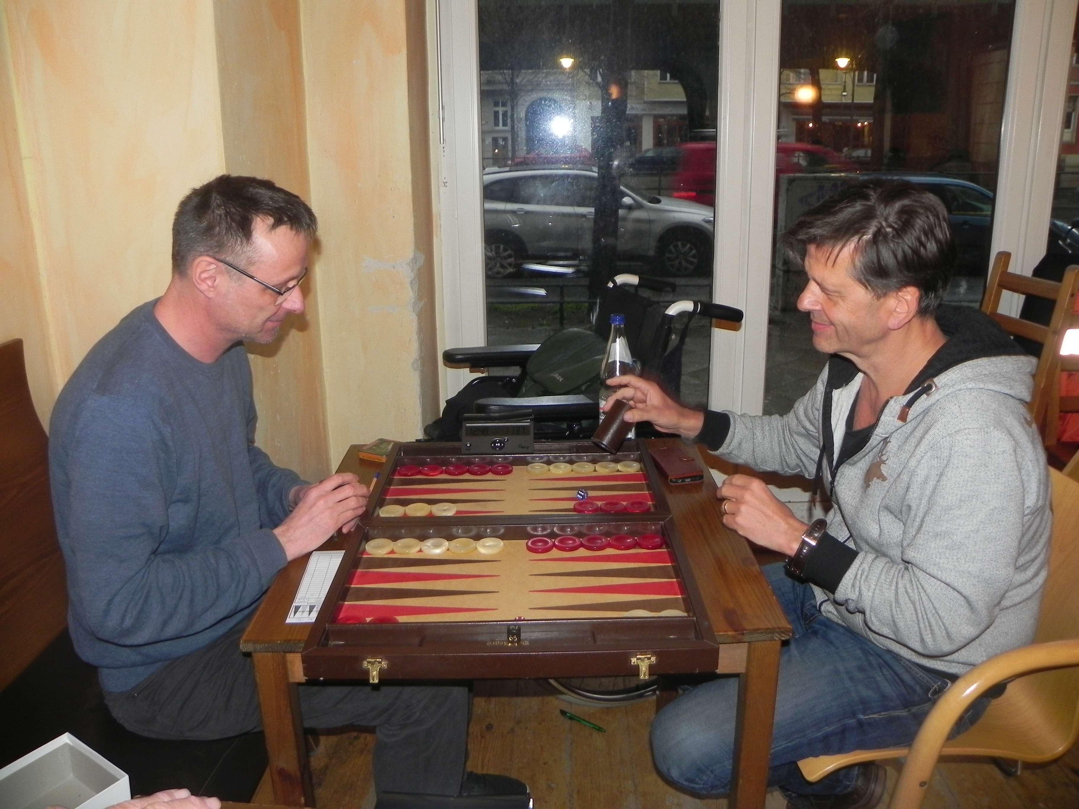 Michael Horchler (li) und Uwe Imgrund