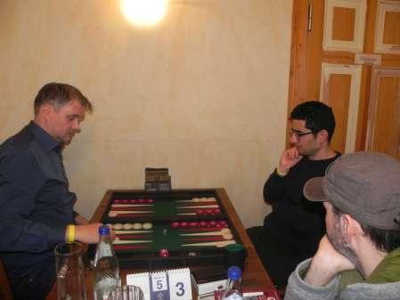 Schwerer Brocken für Ufuk: Andrè Larsen (li) und Ufuk Doğanay