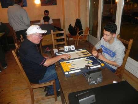 Match um Platz 3: Wolfgang zum Winkel (li), Yonas Lamnabhi