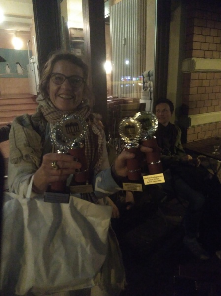 Sabine und die vier Pokale
