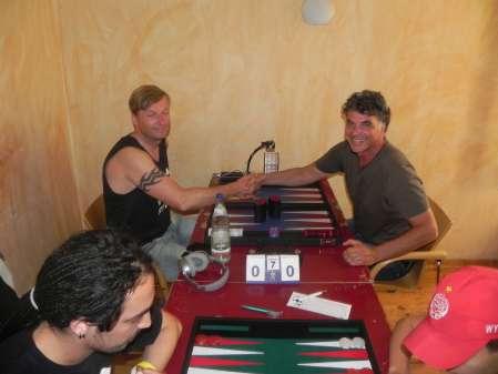 Guido Weidner (li) und Frank Petrikat