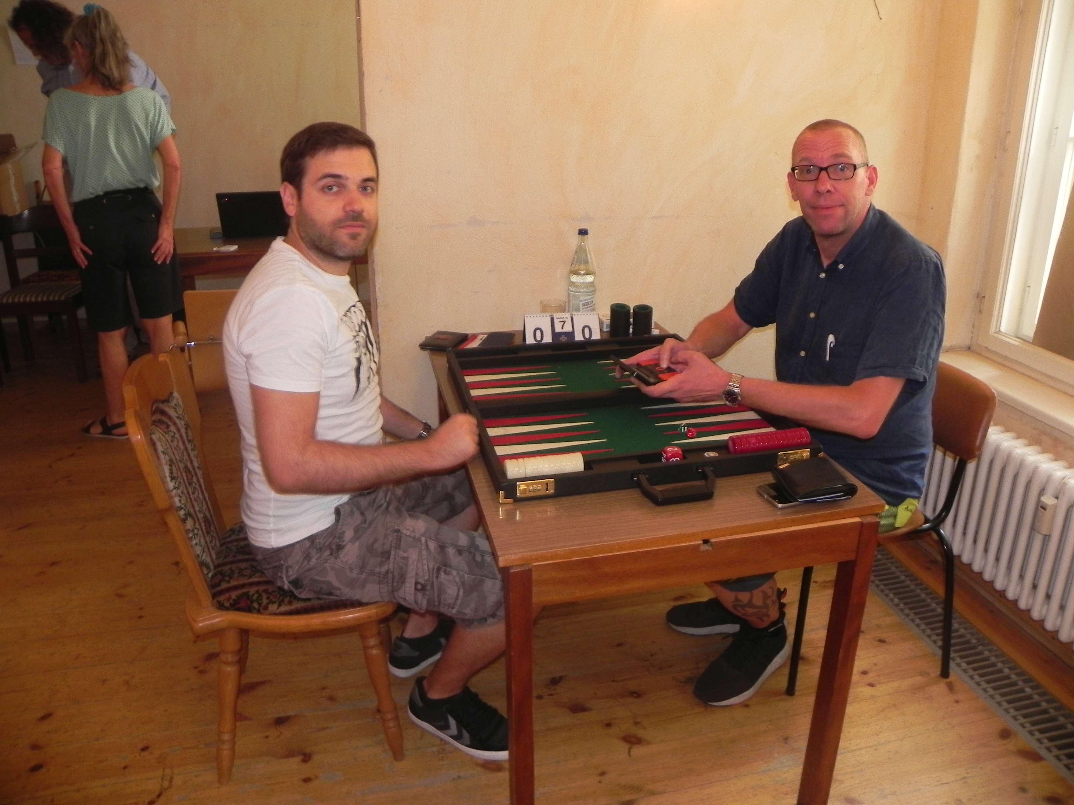 Faruk Kocaer (li) und Thorsten Miesel