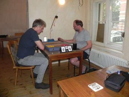 Halbfinale: Jost Müller-Kreth (li) und Tobias Bilz