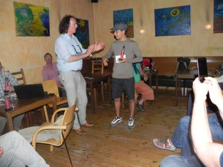 Sieger der Second Chance: Yonas Lamnabhi