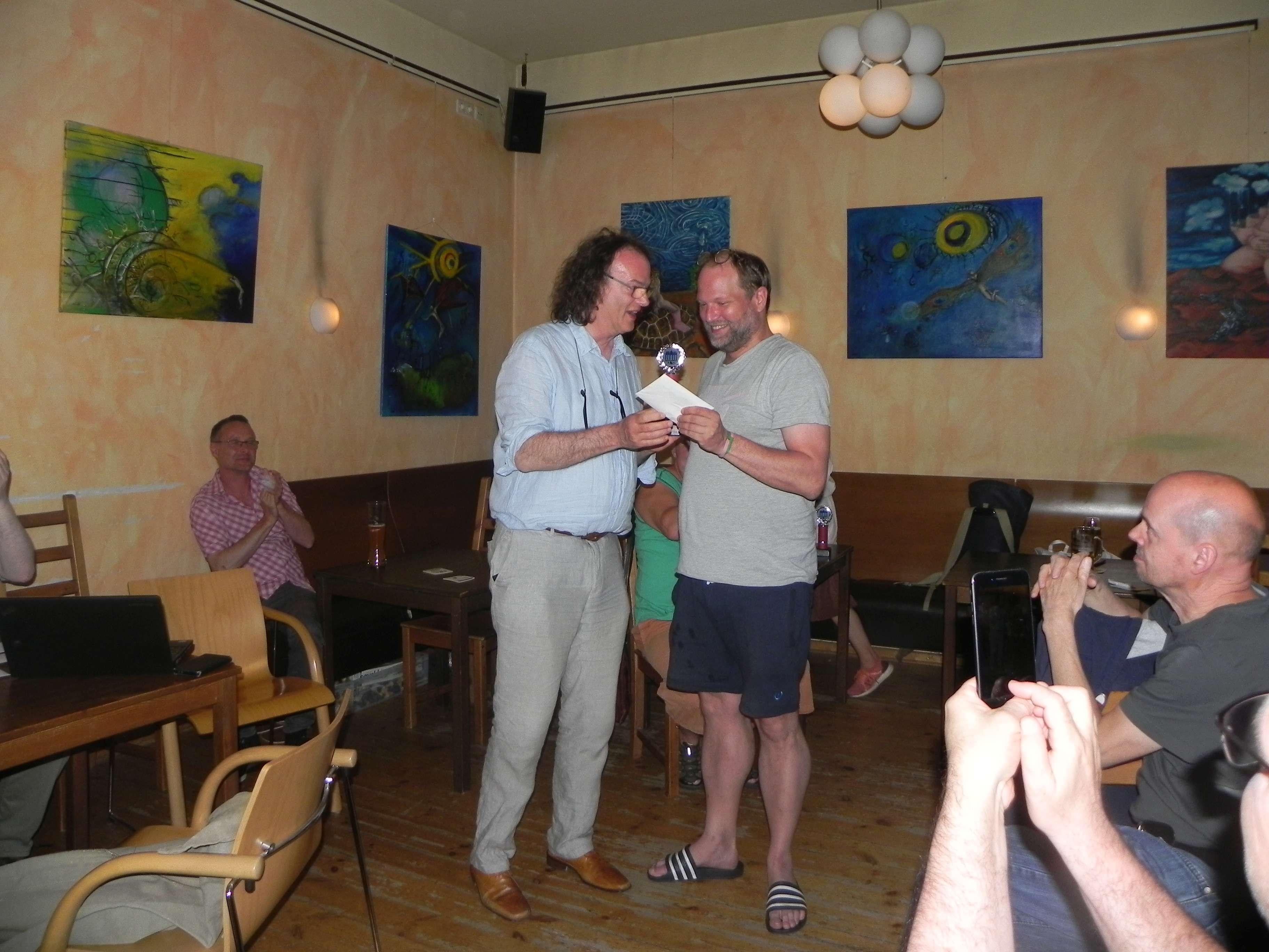 Turniersieger Tobias Bilz