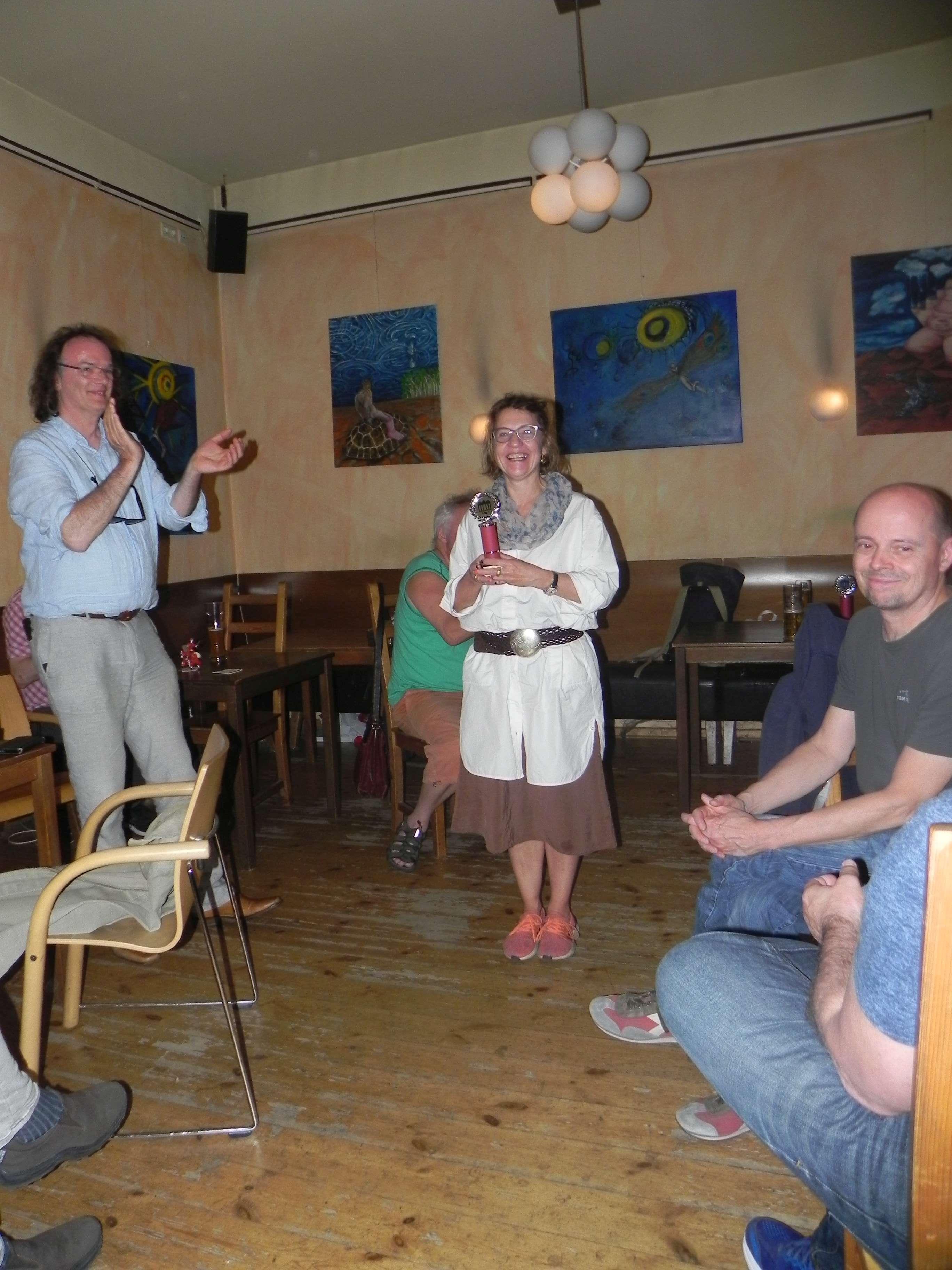 Dritter Pokal für Sabine Brinkmann: Beste Lady der Saison