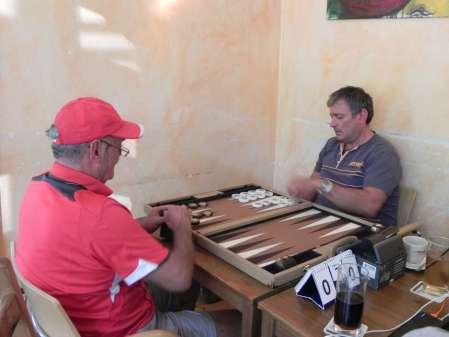 Andreas Kohlschmidt (re) und Carlo Petkovsek