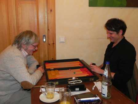 Freude am Spiel: Kalle Baatz (li), Matthäus Vigl