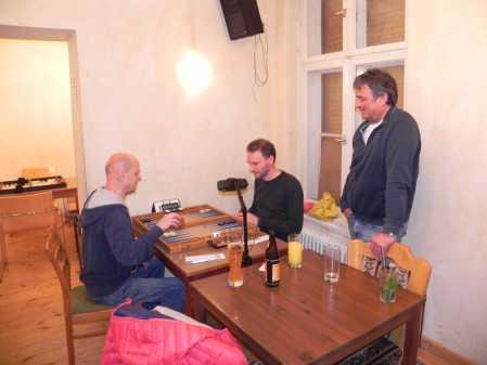 Finale: Rolf Schüler (li), Christian Setzpfandt