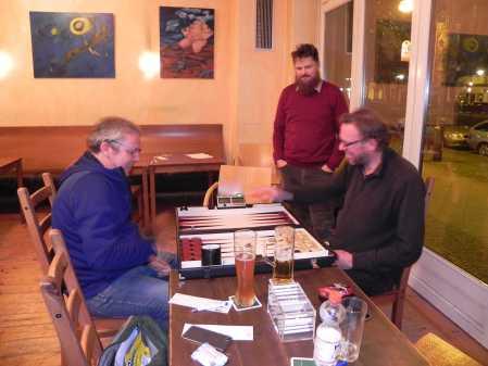 Finale der Second Chance: Ralf Sudbrak (li), Thorsten Miesel