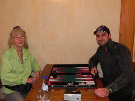 Backgammon macht Spaß. Immer. Jutta Lange, Karen Kazariants