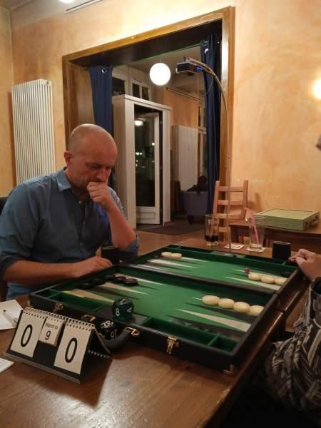 Andi Walther im Finale gegen Igor K